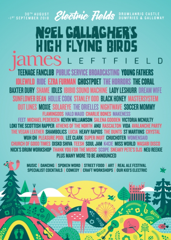 New additions at Electric Fields 2018